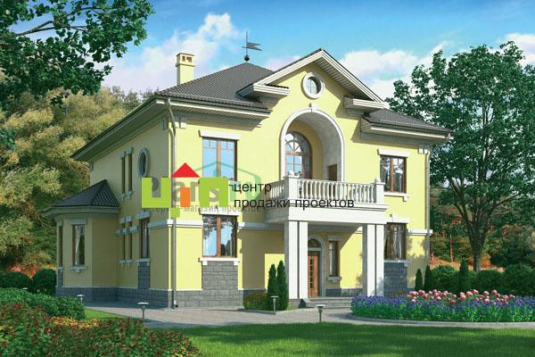 Очень красивый, благородный загородный дом в русском классическом стиле, строгий и изящный.  Дом большой и потрясающе...