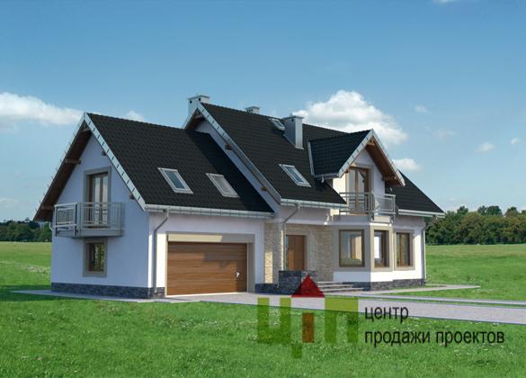 проекти будинків півтора поверхи фото